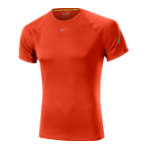 Tshirt Mizuno Drylite Orange